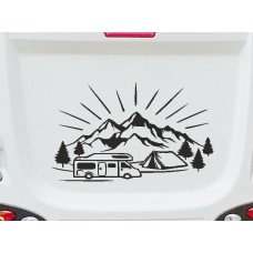 Camper & Mountains