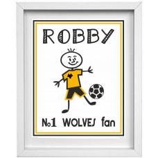 Wolves Footballer